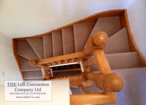 Staircase for a loft conversion Portsmouth 7