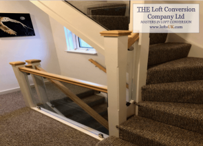 Staircase for a loft conversion Portsmouth 8