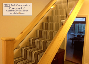 Staircase for a loft conversion Portsmouth 9