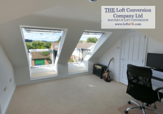 Velux Cabrio balconies installed to a loft conversion position to front elevation.