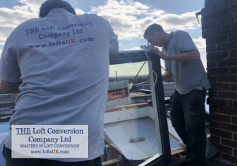Velux window installation to a loft conversion