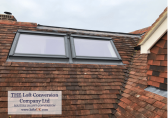 Velux windows to loft conversion in Portsmouth