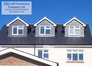 3 pitched roof dormer windows to a loft conversion in Portsmouth